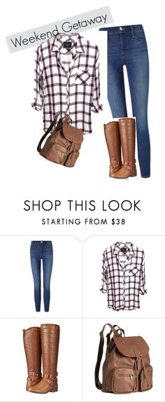 """""""Weekend Getaway"""" by smilingdress on Polyvore featuring Frame Denim, Madden Girl and H&M"""