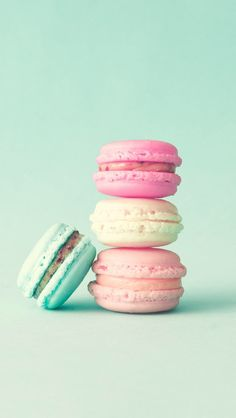 Macaron girly gifts french macaroons canvas art by CarolineMint Pretty Backgrounds For Iphone, Cute Wallpaper Backgrounds, Pretty Wallpapers, Aesthetic Iphone Wallpaper, Pastel Wallpaper, Kawaii Wallpaper, Wallpaper Wallpapers, Cartoon Wallpaper, Macaron Wallpaper