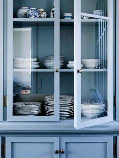 blue kitchen #decor #kitchen