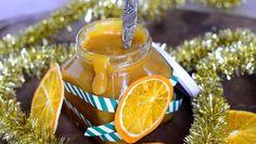 Appelsiinilla ja konjakilla maustettu joulusinappi