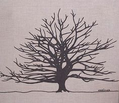 Marushka - large tree silhouette (brown)   Flickr - Photo Sharing!