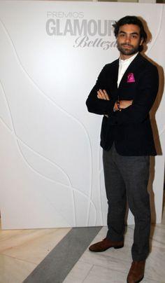 Diego Osorio Premios Glamour Belleza. Hotel Palace, Madrid. 11 de marzo 2013.
