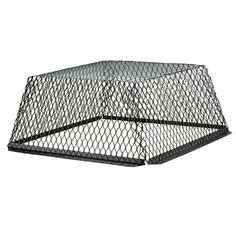 CCSS1418 13 X 17-Inch Stainless Steel 5//8-Inch Spark Arrestor Mesh Chimney Cap