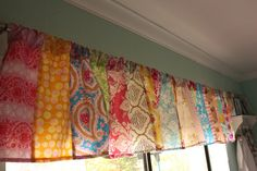 patchwork valance   Flickr - Photo Sharing!