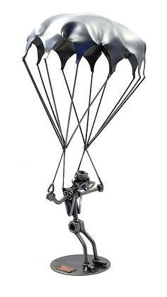 Schraubenmännchen Fallschirmspringer - Online Geschenkeshop mit Schraubenmännchen mit Widmung und mehr