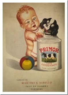 Leite Condensado PRIMOR – Martins & Rebello Posters Vintage, Vintage Advertising Posters, Vintage Labels, Vintage Cards, Vintage Advertisements, Vintage Images, Vintage Prints, Retro Vintage, Poster Ads