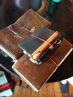 Midori Trabeler's Notebook http://www.buitendelijntjesshop.com/c-2123691/midori-traveler-039-s-notebooks/