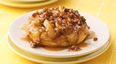 Upside-Down Caramel-Apple Biscuits