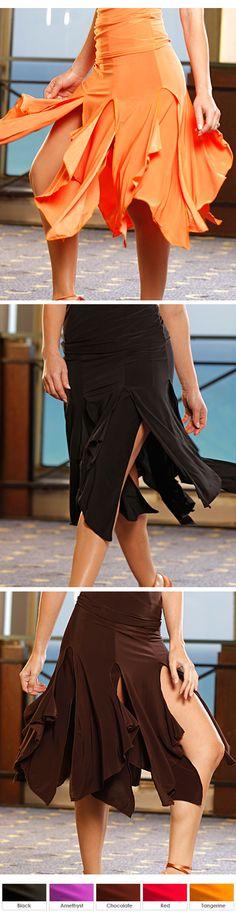 Dance America S61 - 12 Panel Latin Offset Skirt