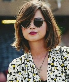 Jenna Coleman Haircut                                                                                                                                                                                 Mais