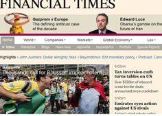 Galdino Saquarema  DESABAFO: Se Dilma sair outro medíocre a substituírá diz Financial Times