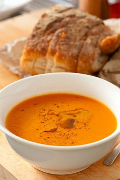 Carrot and coriander soup is a simple and healthy meal that will help keep your waistline trim. Earthy carrots are cooked with sweet onion, salt, pepper, and water or stock until cooked through. The soup based is then spiked with orange juice