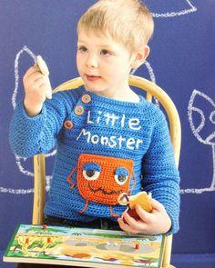 Adorable crochet sweater