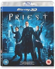 #Priest blu-ray 3d dvd paul bettany, cam #gigandet, #maggie q, karl urban, lily c,  View more on the LINK: 	http://www.zeppy.io/product/gb/2/291643403777/