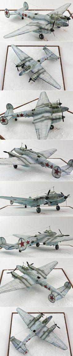 Petlyakov Pe-2 1/48 Zvezda