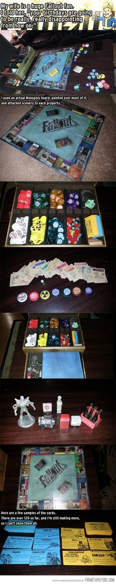 Monopoly and Fallout combined? Awesome!