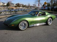 Numbers Matching '73 Corvette L-82