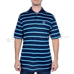 5e3b78d34 Dallas Cowboys Nike Golf Ultra Stripe Polo Navy Dallas Cowboys Pro Shop