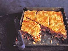 Tomato, feta, almond and date baklava - Recipes - Food and Drink - The Independent