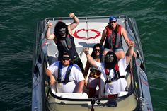 Gorilla attack! Florida Powerboat Club