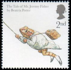 Literary Stamps: Potter, Beatrix (1866-1943)