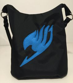 7674b1c84393 Fairy Tail shoulder purse Fairy Tail bag by ARPCreations on Etsy Shoulder  Purse, Fairy Tail
