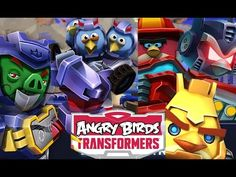 Angry Birds Transformers Android İos  Free Game GAMEPLAY VİDEO