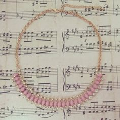 This I Pink Youre Pretty Statement Necklace is the cutest! So many ideas of what to wear it with...