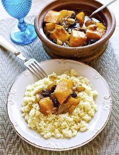 Cuscús de calabaza y almendras, receta marroquí con Thermomix « Thermomix en el mundo