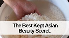 Rice water keeps the skin smooth, brighter and glowing, reduce pore size , Clear Acne Overnight, Rice Water Benefits, Asian Beauty Secrets, Rice Mask, Reduce Pore Size, Asian Rice, Beauty Hacks, Beauty Stuff, Beauty Tips