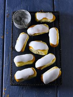 Iced buns recipe - a nostalgic favourite, these iced buns taste so much better than shop-bought.