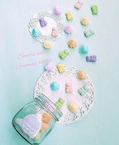 Sweets suzu  My handmade sweets deco  http://ameblo.jp/s-sweets-10/ https://www.instagram.com/sweetssuzu/  (shop) mademoiseryu.ocnk.net/     #gummybears#resinclay#sweets deco#accessories