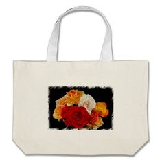 Rose Bouquet Tote Bags by Florals by Fred #zazzle #gift #photogift