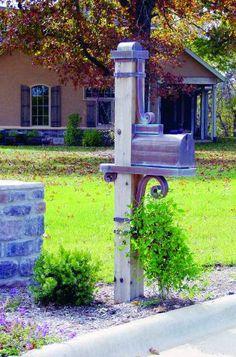 Copper Mailbox - Copper Manor Architectural Products L.L.C.