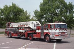 Fire Apparatus Slide - Washington DC - Hahn LTI Truck 7