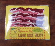 Bacon Beer Wraps in Embroidery TAGT TEAM tagt by JeanineDesigns