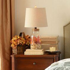 Glass Jar Table Lamp | Kirklands $50