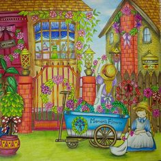 #romanticcountry2 #romanticcountry #coloredpencil #adultcoloringbook #раскраскаантистресс #раскраскадлявзрослых