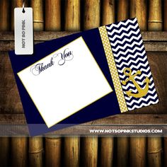 Hey, I found this really awesome Etsy listing at https://www.etsy.com/listing/161508836/nautical-thank-you-card-instant-download