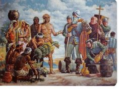 spanish conquistador 1500s painting - Google Search