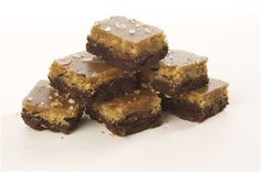 Salted Caramel Brownies : Dark, delicious chunky brownies that are both sweet and a bit salty.