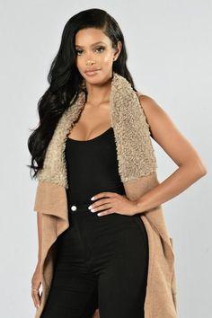 Penny Lane Vest - Cocoa | Fashion Nova