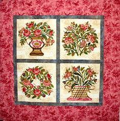 Baltimore Garden Quilts: Cynthia in Texas - Broderie Perse Applique