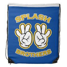 Splash Brothers backpack