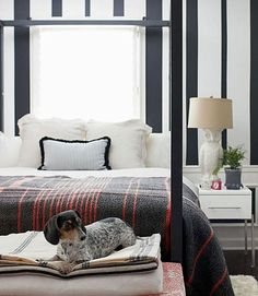 Modern ways to incorporate plaid into the home