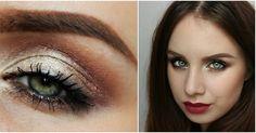 Autumn Makeup, Burgundy Lips, Green Eyes, Brows, Makeup Looks, Make Up, Eyebrows, Fall Makeup, Eye Brows