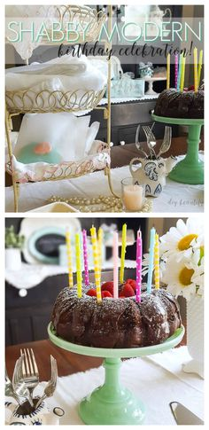 How to Style a Shabby Modern Birthday (Plus a $150 Minted Giveaway)