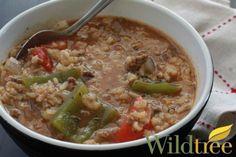 Wildtree's Stuffed Pepper Soup Recipe Soup is on my menu for tonight. www.mywildtree.com/essentials