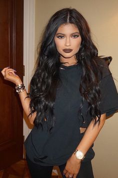 Kylie Jenner will be coming out with her own lipstick line and here's one of the shades!!