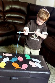 Fishing for sight words--- this was a big hit!!!